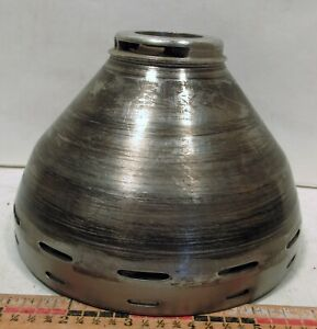 Vintage Ih Mccormick No 3f Electric Cream Separator Stainless Steel Cone Drum