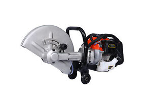 14 52cc 2stroke Gas Powered Concrete Cut Off Saw Gasoline Grinder Without Blade