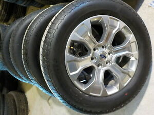 4 Ford 2021 F150 Platinum Factory 20 Wheels Tires 33f
