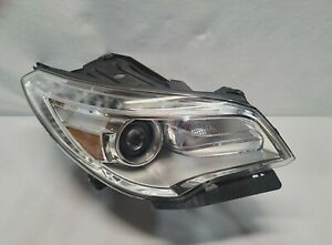 2013 2017 Buick Enclave Right Rh Side Xenon Hid Non Afs Headlight Oem