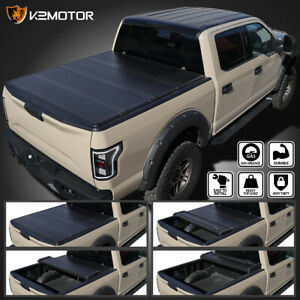 For 2004 2012 Chevy Colorado Canyon 6ft Long Bed Hard 4 Fold Tonneau Cover