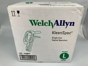 Lot Of 18 Welch Allyn Kleenspec 59004 Disposable Vaginal Speculum Large New