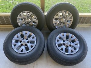 2017 Toyota Tacoma 16 Wheels And Tires 275 45 16 Firestone Stock Factory