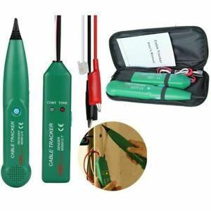 Rj11 Network Line Finder Cable Tracker Tester Toner Electric Wire Tracer Checker