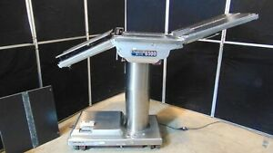 Skytron 6500 Elite Surgical Operating Table With Hand Control Works Good S2265