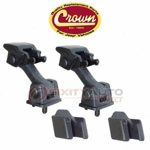 Crown Automotive Hood Latch Assembly For 1997 2006 Jeep Wrangler Body Ut