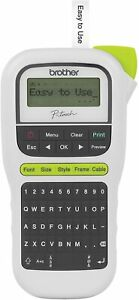 Brothers P touchs Pth110 Easy Portable Label Maker Lightweight Qwerty Keyboa
