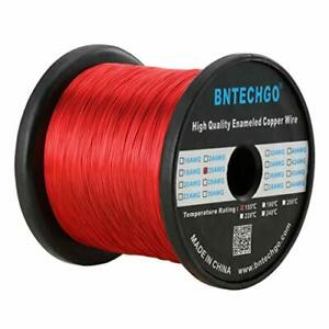 Bntechgo 26 Awg Magnet Wire Enameled Copper Wire Enameled Magnet Winding
