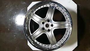 Modulare M7 Brush 3 Piece Forged 19 Wheel Set Only For Ferrari F430 360