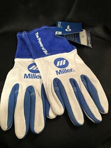 Miller Tig Welding Gloves Medium 263347 Brand New With Tags Free Shipping