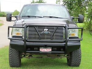 New Ranch Style Front Bumper 99 01 02 03 04 05 06 07 Ford F250 F350 Super Duty