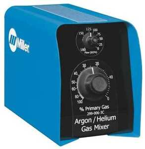 Miller Electric 299 006 3c Two Gas Mixer argon And Helium