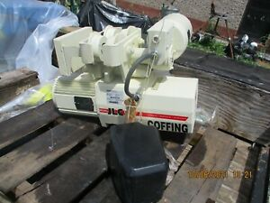Never Used Coffing 1 Ton Jlcmt2016 Electric Chain Hoist W power Trolley 460 3 60