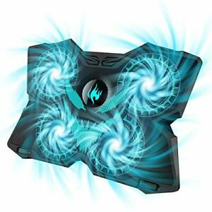 Laptop Cooling Pad Gaming Laptop Cooler Stand With 4 Silent Big Fans For Notebo