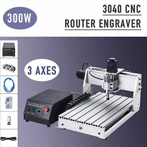 3 Axis Cnc Router Machine Wood Cutter Engraver Engraving Milling Cutting Machine