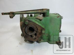 Genuine Used John Deere B Tractor Governor Housing With Gears Pictured B2630r