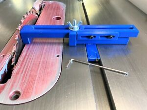 Wedgie Sled Adjustable Stop Block Very Accurate Table Saw Tool For Wood Lathe
