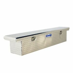Crossover Truck Tool Box 70 Crown Series Slimline Low Profile Locking Stainless