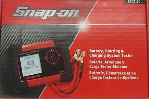 Snap On Eecs150 Battery Starting And Charging System Tester New