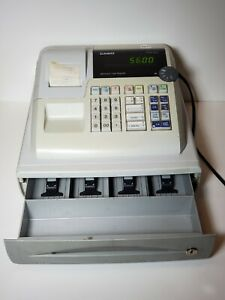 Casio Pcr 262 Electronic Business Cash Register Working No Key