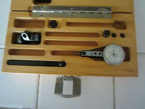 Brown Sharpe 7030 Dial Test Indicator 0005 Box And Accessories
