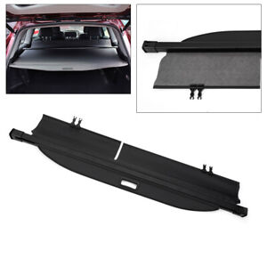 New For Toyota Highlander 14 16 Retractable Rear Trunk Cargo Cover Uv Resistance