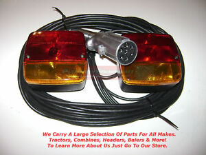 Magnetic Light Kit For Case Ih Tractor Wagon Implement Trailer Flat Bed Hay Farm