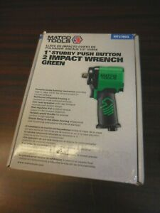 Matco Tools 1 2 Stubby Push Button Impact Wrench Mt2765g