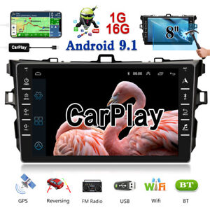 Fit For Toyota Corolla 2006 2012 Car Mp5 Player Carplay Android 9 1 Stereo Radio