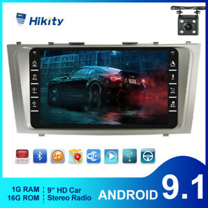 For 2007 2011 Toyota Camry Android 9 1 Car Stereo Radio Wifi Gps Navi W Camera