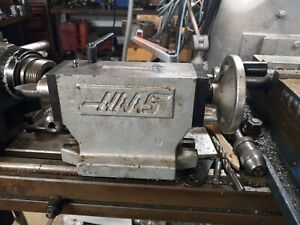 Haas 4 Hts4 3mt Manual Tailstock Cnc Ha5c Rotary Indexer With Center yuasa