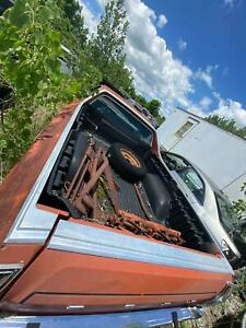 Misc Trim Ford Torino Ranchero 73 Chrome Bed Trim Moldings Rare Hard To Find