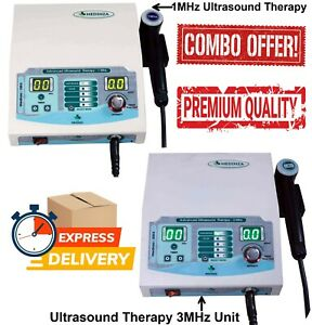 Ultrasound Therapy 1mhz 3mhz Unit Ultrasound Physical Therapy 100s 300s Modl