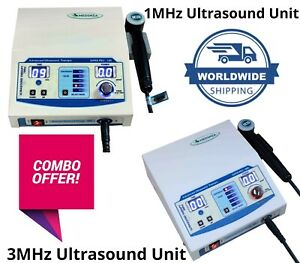 Super Pro 100 Ultrasound Therapy 1mhz Unit Ultrasound 3mhz Therapy 300 Machine