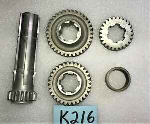 Used Oem 53 62 Triumph Tr2 Tr3a Gearbox Countershaft 1st 2nd 3rd Gear K216