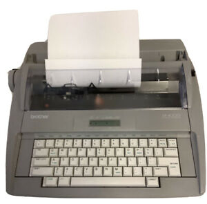 Brother Sx 4000 Electronic Lcd Digital Display Typewriter Used Works