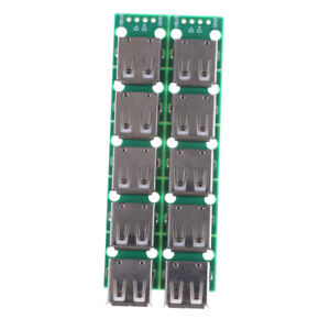 10pcs Type A Dip Female Usb To 2 54mm Pcb Board Adapter Converter For Arduino_wa