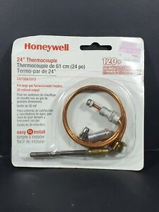 Honeywell 24 Thermocouple Cq100a1013 For Large Gas Furnaces water Heater