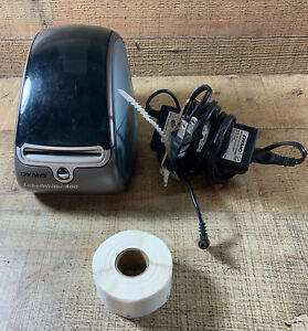 Dymo Labelwriter 400 Turbo Thermal Label Printer W Power Supply Labels