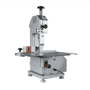 650w Commercial Electric Butcher Frozen Meat Bone Fast Cutting Band Saw Machine