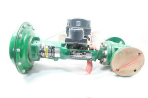 Fisher Type Et Pneumatic Steel Flanged Control Valve 1 1 2in 300