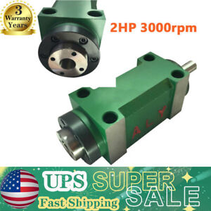 Mt2 Spindle Motor Power Head 3000rpm Drilling Milling Tapping Spindle Unit Cnc