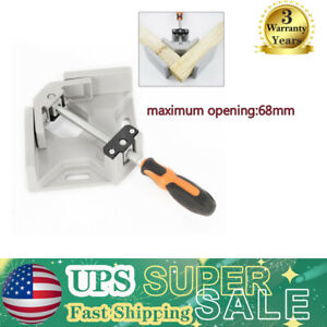 90 Degree Corner Clamp Woodworking Right Angle Vice Wood Metal Welding Tool Us