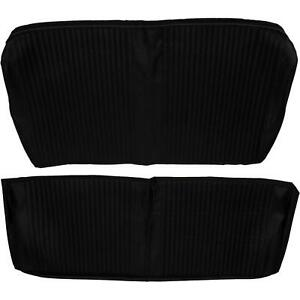 Rear Seat Upholstery 1964 Chevelle Coupe Black