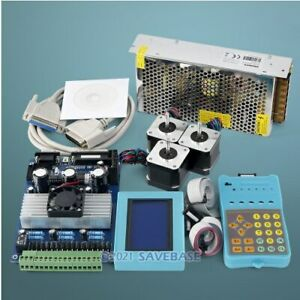 Cnc Kit With Tb6560 3 Axis Set Professional Version Driver Board Hb Motor psu