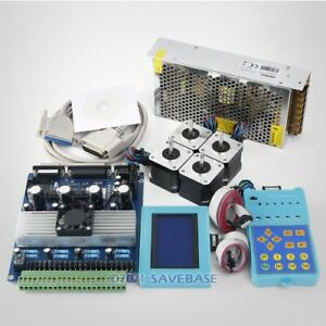 Cnc Kit With Tb6560 4 Axis Set Standard Version Driver Board Hb Motor psu