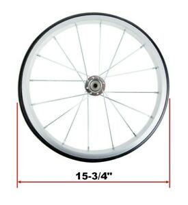 Replacement Popcorn Machine Cart Wheel Silver 15 3 4 Great Northern More