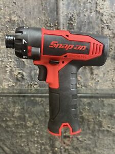 Snap On Tools New 14 4 Volt 1 4 Brushless Microlithium Screwdriver Lot Cts825
