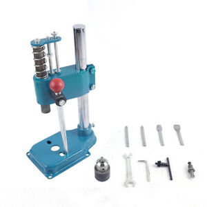Leather Hole Puncher Manual Press Puncher Diy Leather Cutting Imprinting Machine