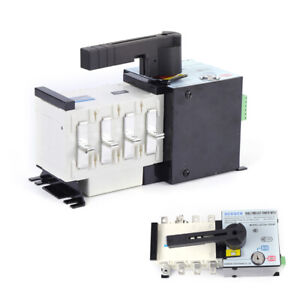 Auto Transfer Switch 4p 100a 400v Dual Power F Generator Changeover Switch Sale